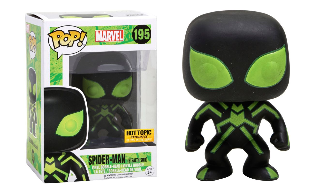 Spider-Man Big Time Suit #270 Walgreens Exclusive Collectible Figure Marvel Bundled with Pop Box Protector Case Funko Pop