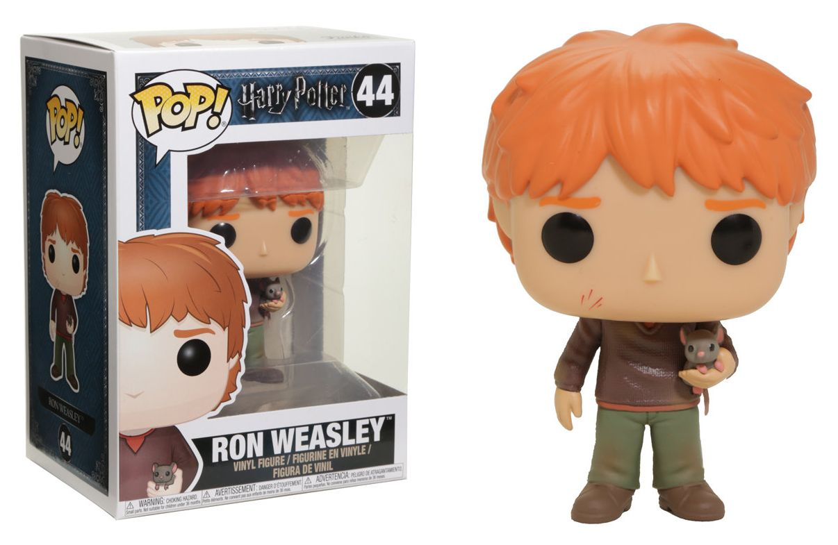 HARRY POTTER RON WEASLEY WITH SCABBERS #44 FUNKO POP UK SELLER NEW SEALED